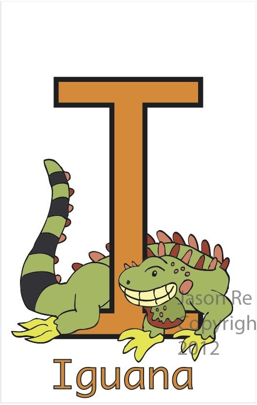 Letter I Is for Iguana